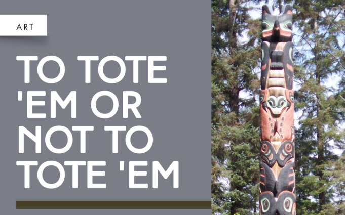 Art: To Tote 'Em or Not to Tote 'Em